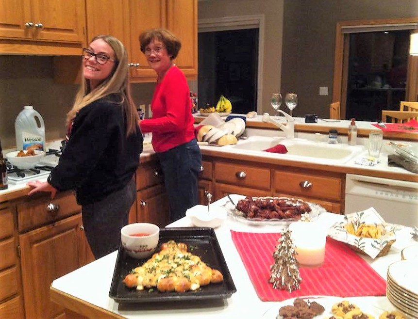 mom and lauren cooking (2)